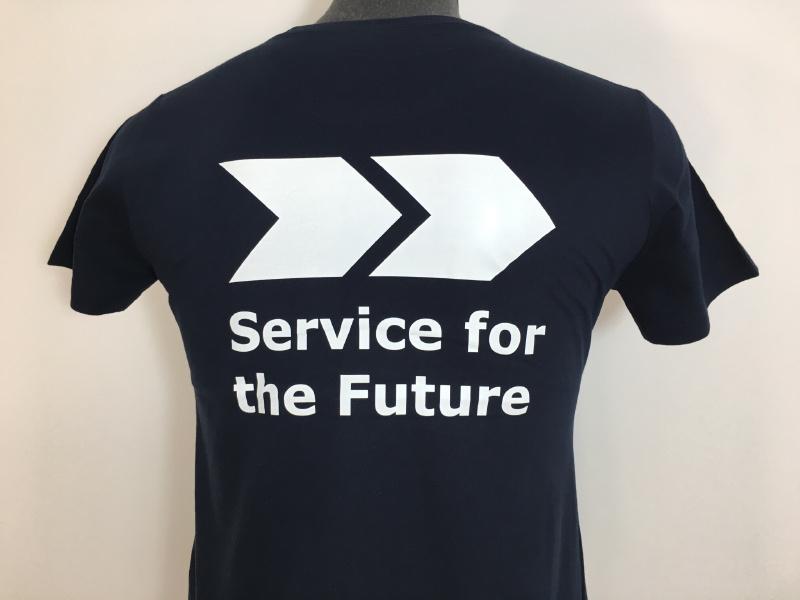 Siebdruck-Shirt für FCC Austria Abfallserice