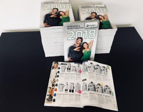 Styriatex-Katalog 2018 mit vielen innovativen Textillösungen!